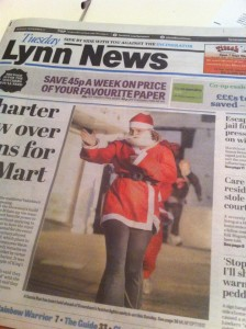 Liz Santa Lynn News cover